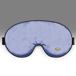 Шелковая маска для сна Onsilk Relax дымчато-синяя