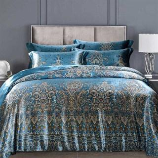 Шелковое постельное белье Blumarine евромакси