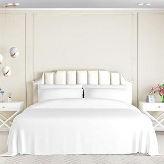 Шелковое постельное белье Elite White Exclusive евро