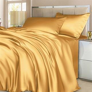 Шелковое постельное белье Gold евро