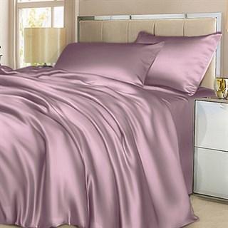 Шелковое постельное белье Лотос евро
