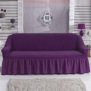 VIOLET Чехол на 3-х местный диван от 170 до 240 см фиолетовый