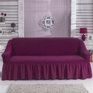 BRIGHT LAVENDER Чехол на 3-х местный диван от 170 до 240 см бургундский