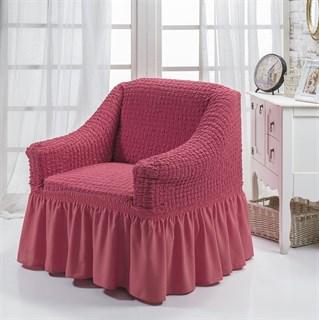 DARK ROSE Чехол для кресла от 70 до 120 см кораллово-розовый