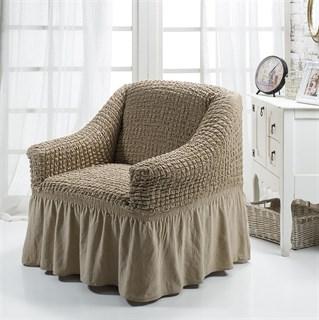 COFFEE Чехол для кресла от 70 до 120 см капуччино
