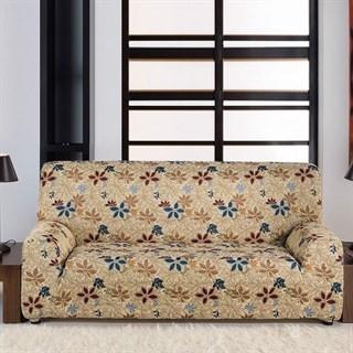 ДУНИЯ Чехол на 2-х местный диван от 120 до 170 см
