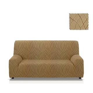 КАРЕН БЕЖ Чехол на 3-х местный диван от 170 до 230 см