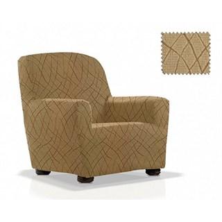 КАРЕН БЕЖ Чехол на кресло от 70 до 110 см