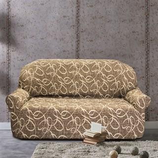 ПЕРСИЯ МАРОН Чехол на 3-х местный диван от 170 до 230 см