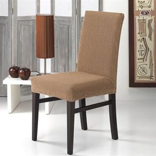 АЛЯСКА БЕЖ Чехлы на стулья со спинкой (2 шт.)