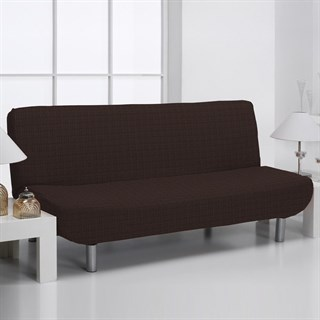 АЛЯСКА МАРОН Чехол на диван без подлокотников от 160 до 210 см