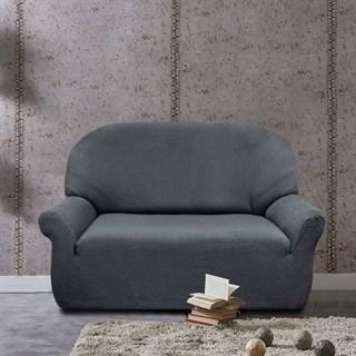 АЛЯСКА ГРИС Чехол на 2-х местный диван от 120 до 170 см