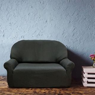 АЛЯСКА НЕГРО Чехол на 2-х местный диван от 120 до 170 см