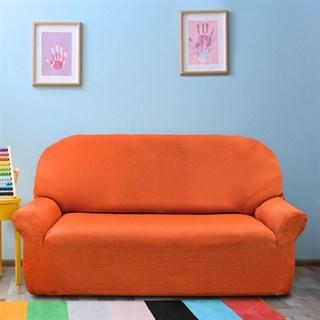 АЛЯСКА НАРАНИЯ Чехол на 3-х местный диван от 170 до 230 см