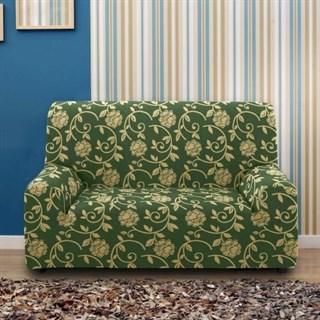 АКАПУЛЬКО ВЕРДЕ Чехол на 2-х местный диван от 120 до 170 см