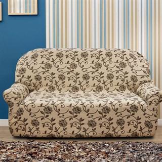 АКАПУЛЬКО БЕЖ Чехол на 3-х местный диван от 170 до 230 см
