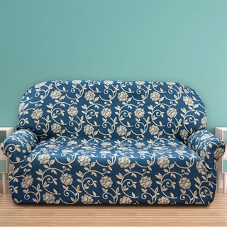 АКАПУЛЬКО АЗУЛ Чехол на 3-х местный диван от 170 до 230 см