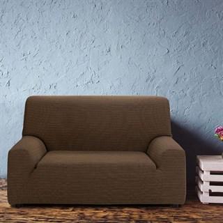 ИБИЦА МАРОН Чехол на 2-х местный диван от 120 до 170 см