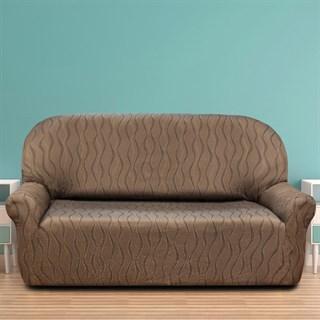 ТОСКАНА МАРОН Чехол на 3-х местный диван от 170 до 230 см