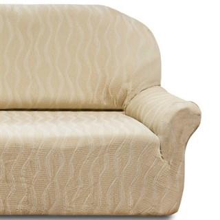 ТОСКАНА МАРФИЛ Чехол на классический угловой диван от 370 до 480 см универсальный