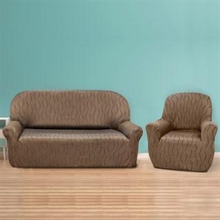 ТОСКАНА МАРОН Комплект чехлов на диван и 2 кресла