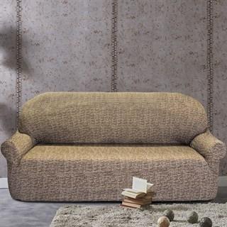 МАЛЬТА МАРОН Чехол на 4-х местный диван от 230 до 270 см