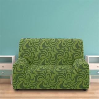 ДАНУБИО ВЕРДЕ Чехол на 2-х местный диван от 120 до 170 см