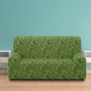 ДАНУБИО ВЕРДЕ Чехол на 3-х местный диван от 170 до 230 см