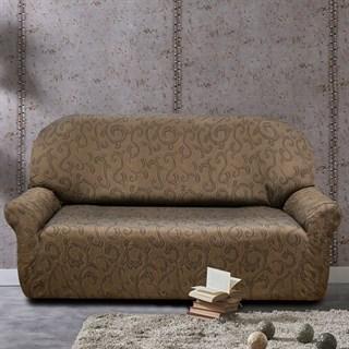 БОСТОН МАРОН Чехол на 3-х местный диван от 170 до 230 см