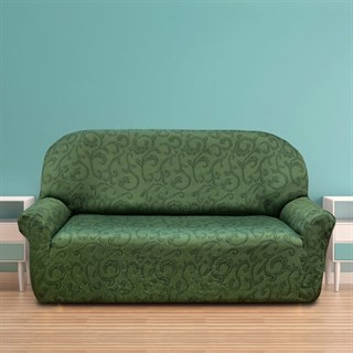 БОСТОН ВЕРДЕ Чехол на 3-х местный диван от 170 до 230 см