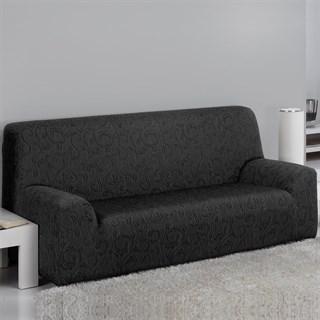 БОСТОН НЕГРО Чехол на 3-х местный диван от 170 до 230 см
