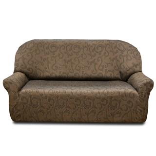 БОСТОН МАРОН Чехол на 4-х местный диван от 230 до 270 см