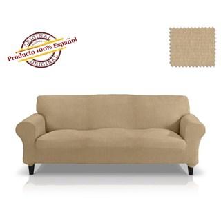 ТЕЙДЕ БЕЖ Чехол на 4-х местный диван от 230 до 270 см
