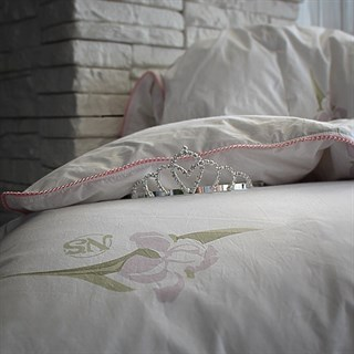 Одеяло пуховое Natures Царственный Ирис 200х220 зимнее