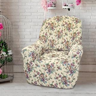 КРЕТОНА МАРФИЛ Чехол на кресло от 70 до 110 см