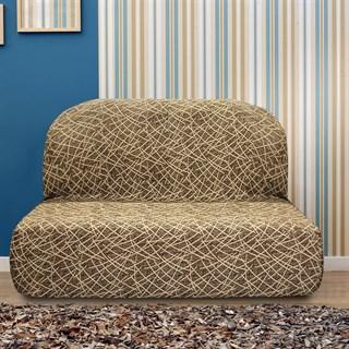 ГРЕЦИЯ МАРОН Чехол на диван без подлокотников от 160 до 210 см