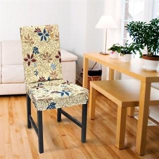 ДУНИЯ Чехлы на стулья со спинкой (2 шт.)