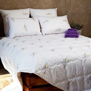 Одеяло шелковое Natures Радужный ирис 140х205 всесезонное