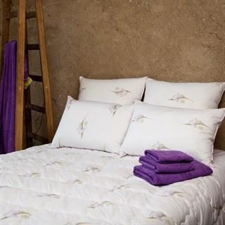 Одеяло шелковое Natures Радужный ирис 172х205 всесезонное
