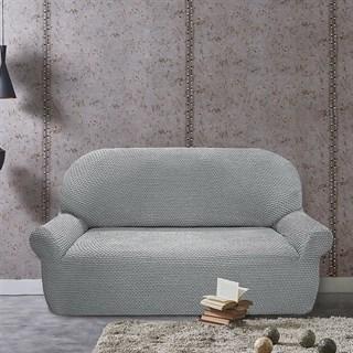 ГАЛАНТ ГРИС КЛАРО Чехол на 3-х местный диван от 170 до 230 см