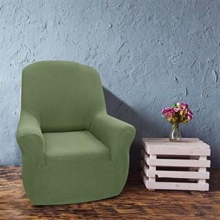 НЬЮ-ЙОРК КИВИ Чехол на кресло от 70 до 110 см