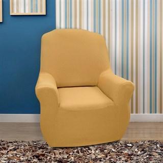 НЬЮ-ЙОРК ОХРА Чехол на кресло от 70 до 110 см