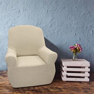 НЬЮ-ЙОРК МЕЛАНЖ Чехол на кресло от 70 до 110 см