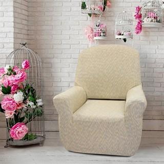 НЬЮ-ЙОРК ФЭШН САББИА Чехол на кресло от 70 до 110 см