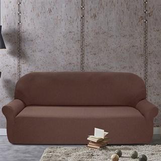 Чехол на 4-х местный диван Нью-Йорк чоколато