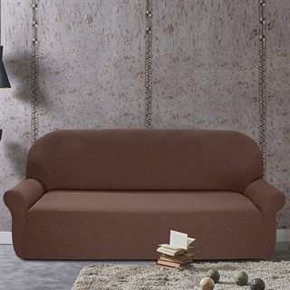 НЬЮ-ЙОРК ЧОКОЛАТО Чехол на 4-х местный диван от 230 до 270 см