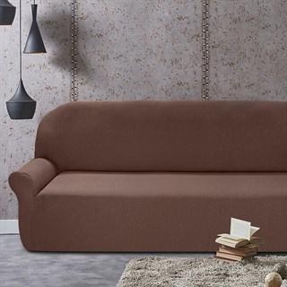 НЬЮ-ЙОРК ЧОКОЛАТО Чехол на 6-ти местный диван от 460 до 580 см
