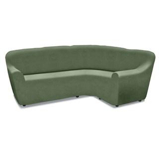 НЬЮ-ЙОРК КИВИ Универсальный чехол на угловой диван от 450 до 580 см
