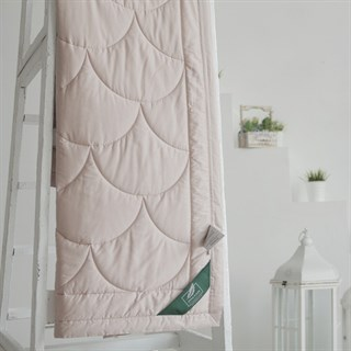 Одеяло Flaum Farbe 200х220 легкое кремовое