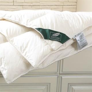 Одеяло пуховое Flaum Sahne 200х220 всесезонное